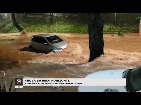 REGIÃO CENTRO-SUL DE BH É DEVASTADA PELA CHUVA - Jornal Minas