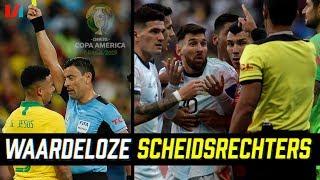 Belachelijke Arbitrage op Copa America Maar Messi Heeft Zich Wel Echt Misdragen!