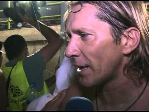 interview Míchel Salgado after the match stars in Iran
