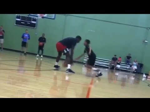 Victor Oladipo Gets EMBARRASSED at His Own Training Camp by a 12-Year Old