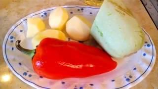 """Вкусная радость. Жареные овощи """"Август"""" с яблоком, мм..."""