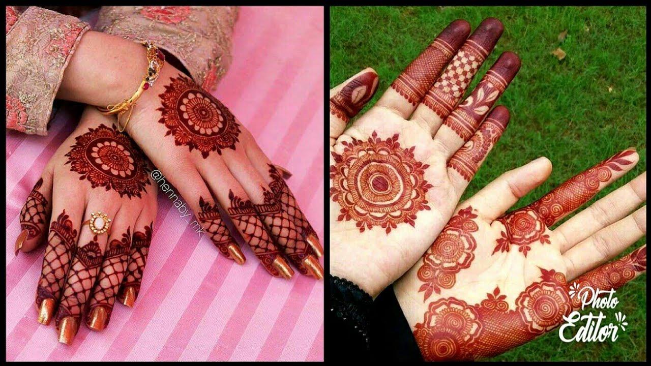 30 New Mehndi Designs 2018 Latest Henna Designs Youtube