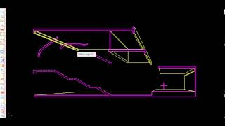 How to create a perspective drawing from 2d image automatically in Autocad with APLUS plug-in.