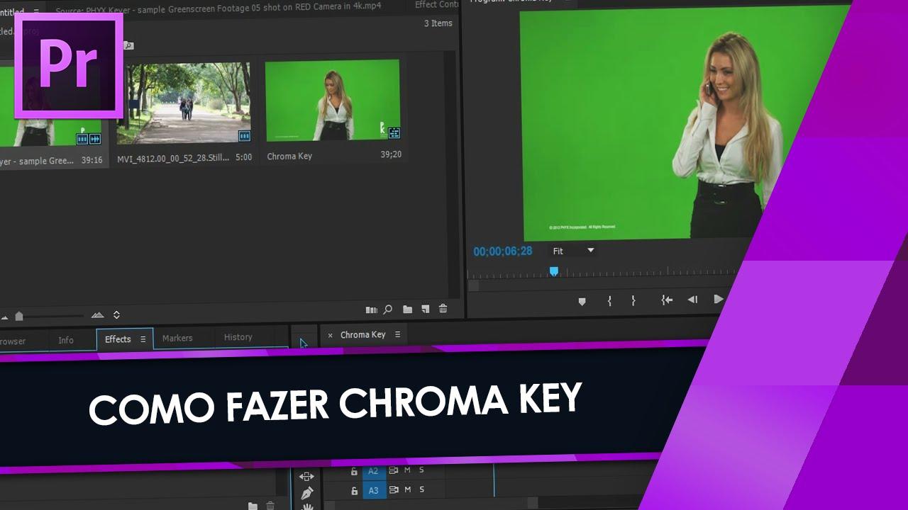 Tutorial Adobe Premiere: CHROMA KEY