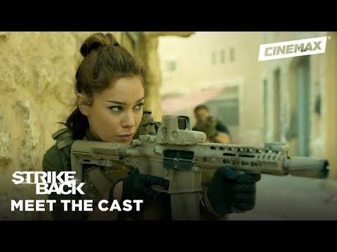 Meet the New Team: Captain Natalie Reynolds  Strike Back  Cinemax
