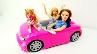 Barbie ailesi yeni araba alıyor! Eğlenceli oyunlar