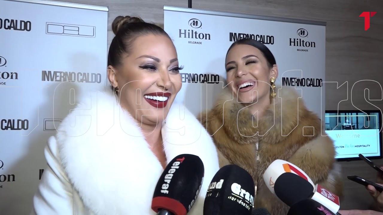 Ceca i Anastasija se zajedno pojavile na reviji, a onda je folk diva  progovorila o udaji - YouTube