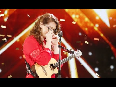 Mandy Harvey: Deaf Singer With Original TRY Gets Simons GOLDEN BUZZER  Americas Got Talent 2017