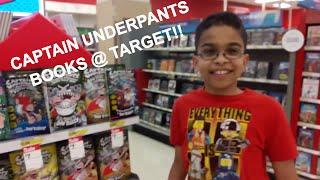 Captain Underpants Books @ Target!