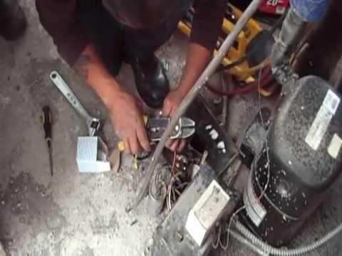 Probando un rele voltimetrico doovi for Arreglar aire acondicionado