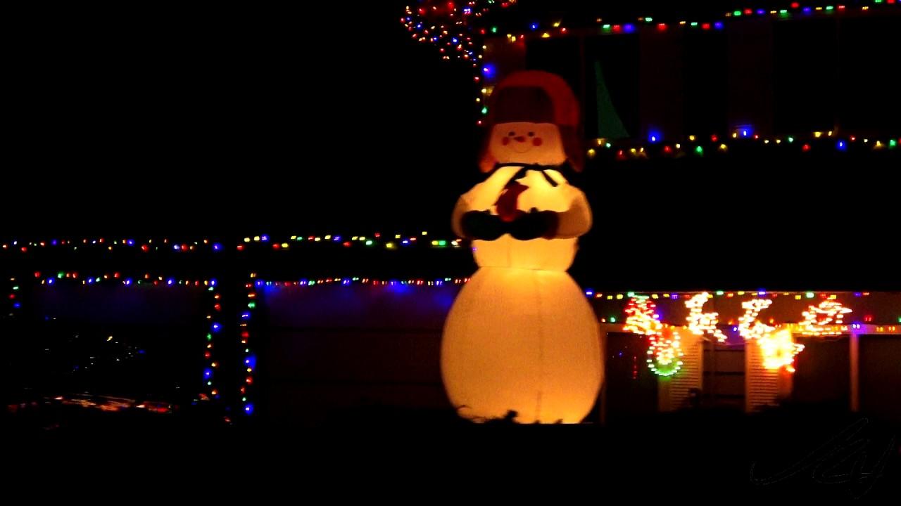 kelowna candy cane lane christmas lights 2016 youtube - Christmas Lights Youtube