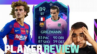 FINALLY USABLE?! 89 RATED RTTF ANTOINE GRIEZMANN PLAYER REVIEW! FIFA 21