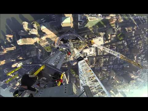 Topping Out One World Trade Center (May 10th, 2013)- ASharmaEarth411HD