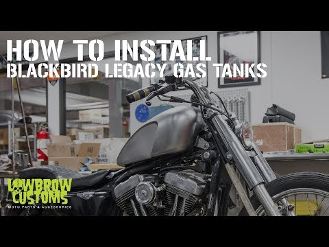 How To Install: Cycle Standard – Blackbrid Gas Tanks