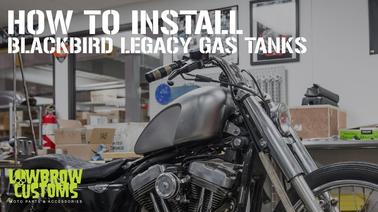 VIDEO: How To Install the Blackbird Legacy Gas Tank on a Harley