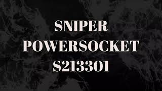 Sniper Powersocket 3 AC Universal Outlets and 6 USB Ports with EU Plug