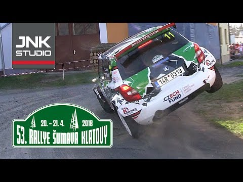 Best of 53. Rallye Šumava Klatovy 2018 (crash & action)