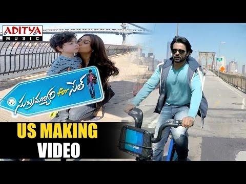 Subramanyam For Sale US Making Video -Sai DharamTej, Regina Cassandra