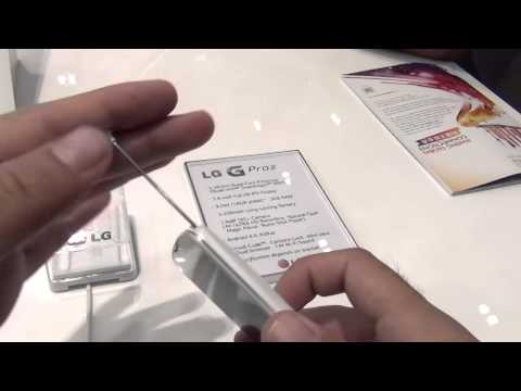نظرة أولى: العملاق LG G Pro 2 المواصفات والمميزات