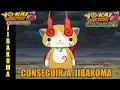 Cómo conseguir a JIBAKOMA | Guía Yo-kai Watch 2 Carnánimas y Fantasqueletos