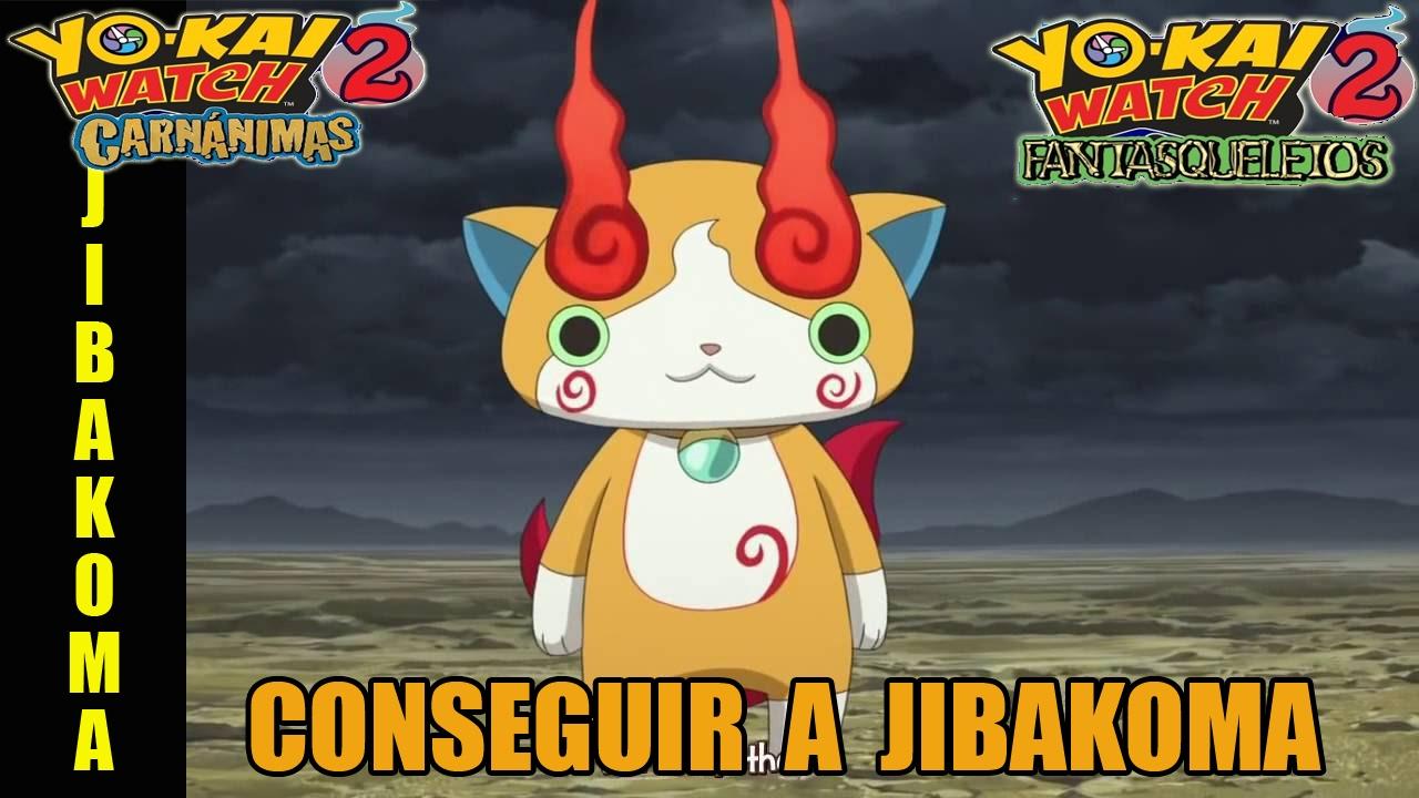 Conseguir A Jibakoma En Yo Kai Watch 2 Carnánimas Y Fantasqueletos Mejoress Com