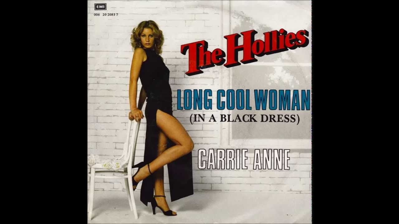 The hollies long cool woman in a black dress