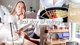 FIRST DAY OF COLLEGE GRWM + VLOG | sophomore year @ northeastern university