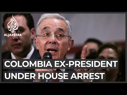 Colombia top court places ex-President Uribe under house arrest