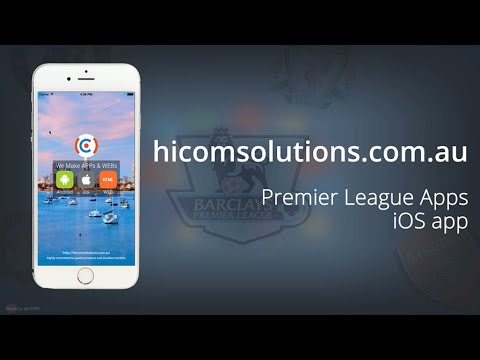 Premier League live score football ios app source code for sale