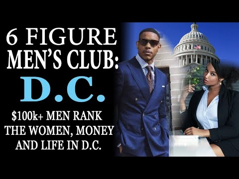 1-7-2021: The 6 Figure Men's Club: D.C.