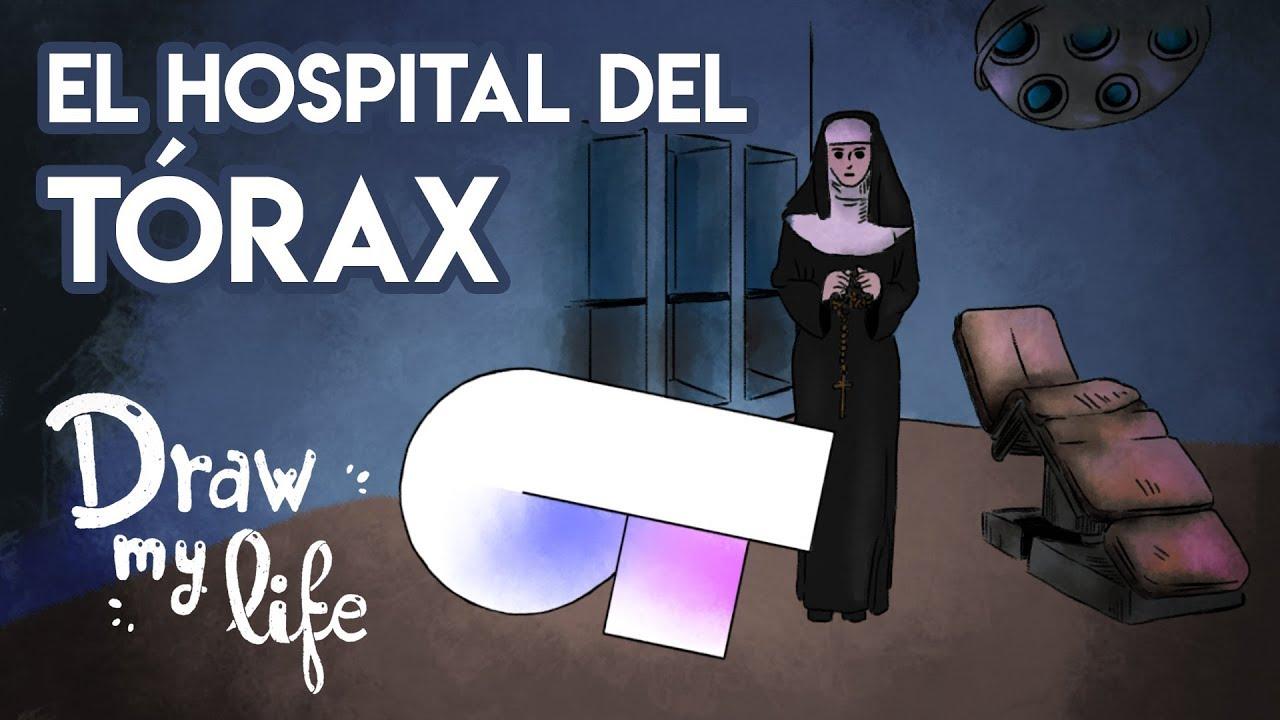 El MISTERIOSO HOSPITAL del TORAX | Draw My Life
