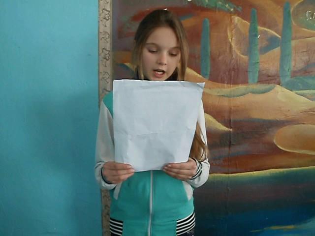 Изображение предпросмотра прочтения – АннаЧеповская читает отрывок изпроизведения «Бородино» М.Ю.Лермонтова