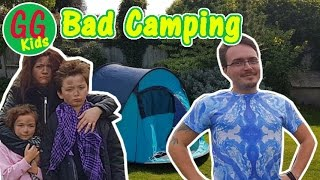 Camping - Dad vs Family - GGKids go camping - Funny Comedy Short video