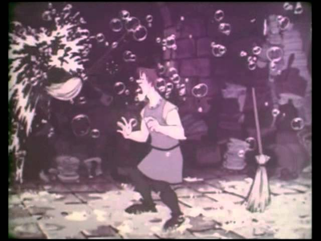 """Rarissimo trailer italiano del film: """"La spada nella roccia"""" (telecinema da 16mm)."""