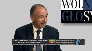 W. BARTOSZEWSKI, P. LISIECKI - SKANDALICZNY LIST BYŁYCH AMBASADORÓW RP DO PREZYDENTA TRUMPA