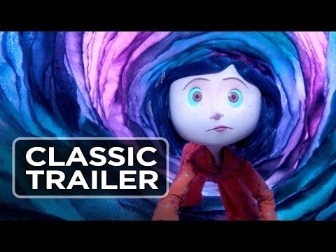 Random Movie Pick - Coraline (2009) Official Trailer - Dakota Fanning, Teri Hatcher Movie HD YouTube Trailer