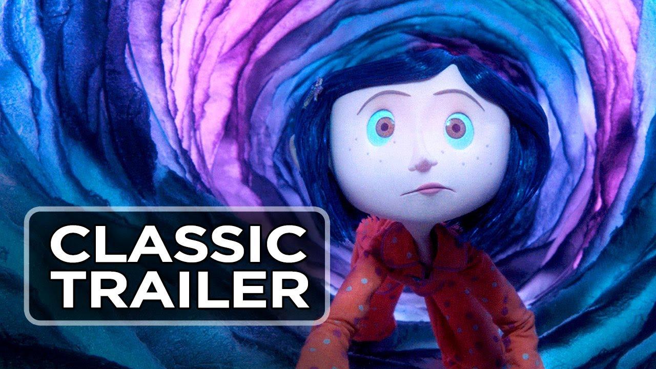 Coraline 2009 Official Trailer Dakota Fanning Teri Hatcher Movie Hd Youtube