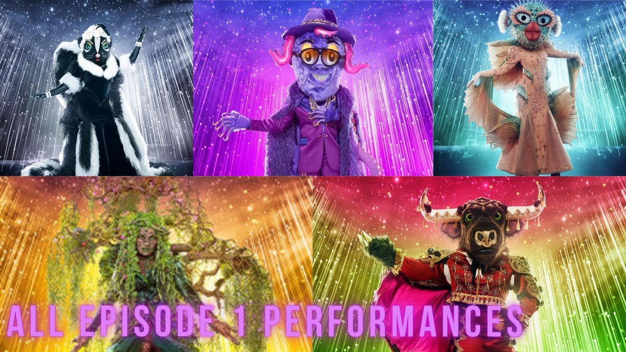 Download All Episode 1 Performances | The Masked Singer Season 6