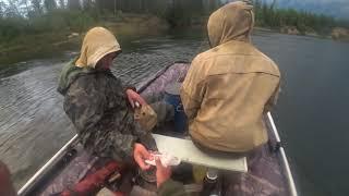 Рыбалка с коллегой из Коми в Якутии Yakutia 2 серия