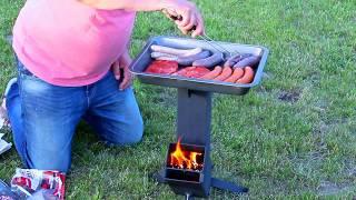 Piecyk rakietowy, ekologiczna alternatywa dla tradycyjnego grilla