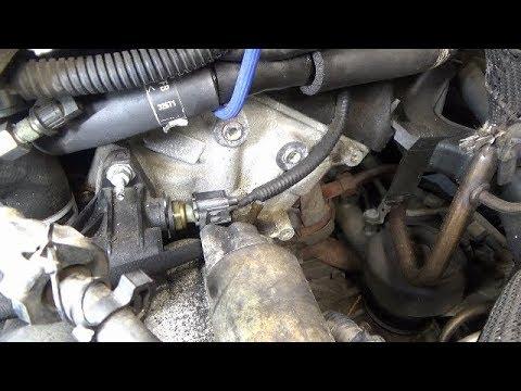 Engine Coolant Temperature Ect Sensor Replacement