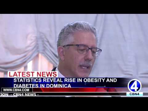 STATISTICS REVEAL RISE IN OBESITY AND DIABETES IN DOMINICA