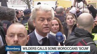 Geert Wilders Calls Some Moroccan Immigrants 'Scum'