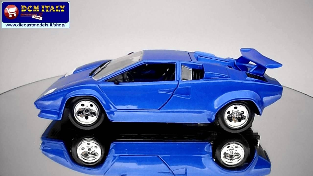 Lamborghini Countach 5000 Quattrovalvole Burago 1 24