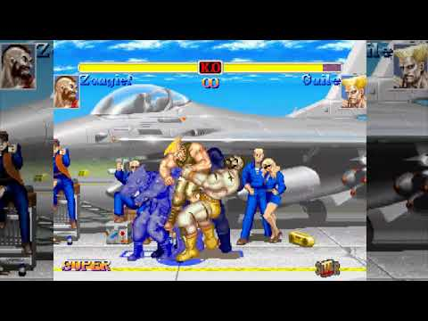 [訓練] X Zangief - HYPER STREET FIGHTER II [PS2]