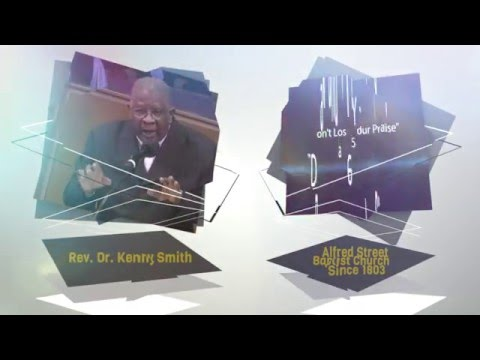 "January 17, 2016 ""Don't Lose Your Praise"" Rev. Dr. Kenny Smith"