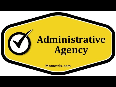 administrative agency There are thousands of federal, state, and local administrative agencies running various operations throughout the government the list of federal agencies includes the federal trade commission, social security administration, federal communication commission, and the environmental protection agency.