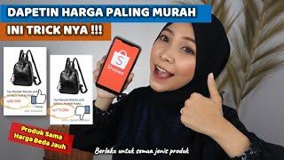 TIPS & TRICK DAPETIN HARGA TERMURAH DI SHOPEE. KUNCI HEMAT !! PRODUK SAMA TAPI MURAH
