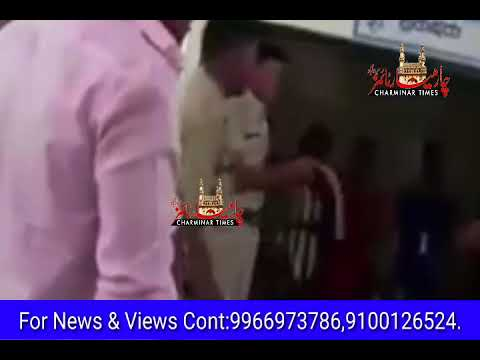 Police atrocity caught on camera. 2 youths thrashed inside police station for traffic..