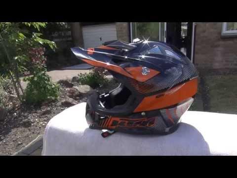 Black KTM helmet